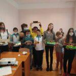 """Проект """"Праисторическо жилище"""" на учениците от 5 клас"""