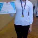 Златно отличие за нашата ученичка Виктория Димова от 4а клас