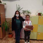 Ученичка от 1а клас спечели бронзов медал в състезание по БЕЛ